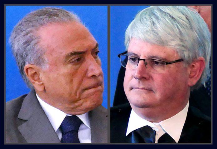 Michel Temer e Rodrigo Janot