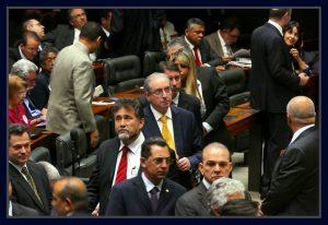 Deputado Eduardo Cunha no plenário da Câmara. Foto Orlando Brito