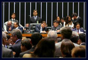 Presidente da Câmara, Rodrigo Maia e Waldir Maranhão. Foto Orlando Brito