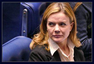 Senadora Gleisi Hoffmann.
